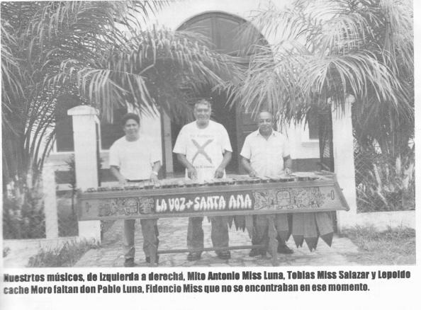 MARIMBA SANTANECA, DURANTE LA FERIA DE ESTA HERMOSA SABANA