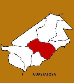 MAPA MUNICIPIO DE GUASTATOYA, EL PROGRESO