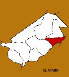 MAPA MUNICIPIO EL JICARO, EL PROGRESO