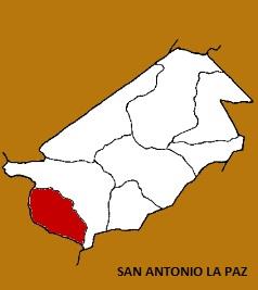 MAPA MUNICIPIO DE SAN ANTONIO LA PAZ, EL PROGRESO