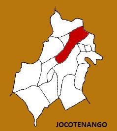 MAPA MUNICIPIO DE JOCOTENANGO, SACATEPEQUEZ