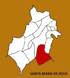 MAPA MUNICIPIO SANTA MARIA DE JESUS, SACATEPEQUEZ