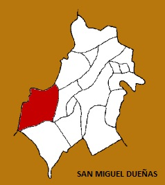 MAPA MUNICIPIO SAN MIGUEL DUEÑAS, SACATEPEQUEZ
