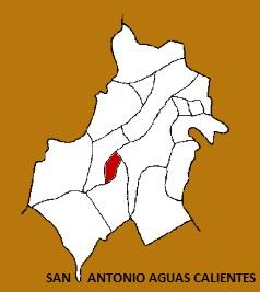 MAPA MUNICIPIO SAN ANTONIO AGUAS CALIENTES