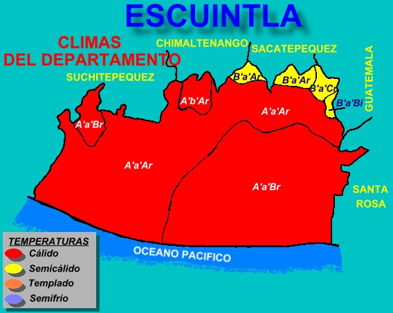 CLIMAS DE ESCUINTLA