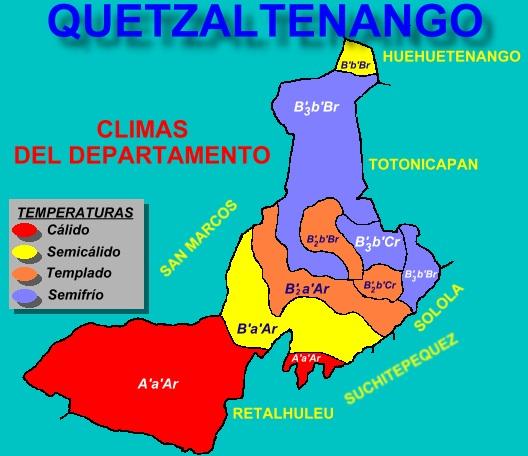 CLIMAS DE QUETZALTENANGO