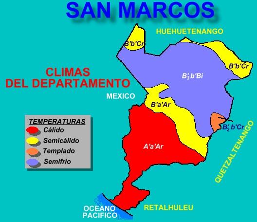 CLIMAS DE SAN MARCOS