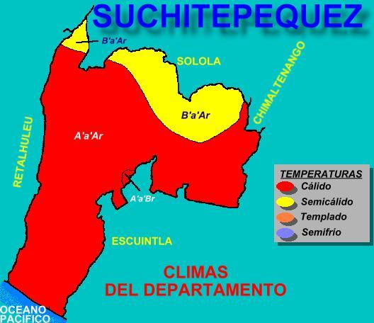 CLIMAS SUCHITEPEQUEZ