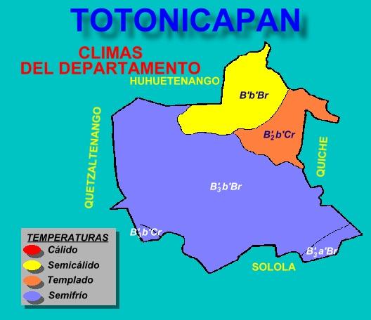 CLIMAS DE TOTONICAPAN