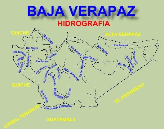 RIOS DE BAJA VERAPAZ