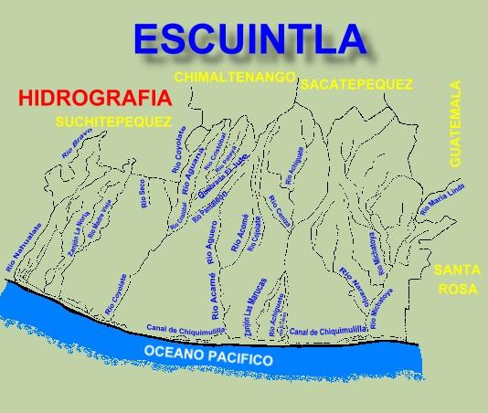RIOS DE ESCUINTLA
