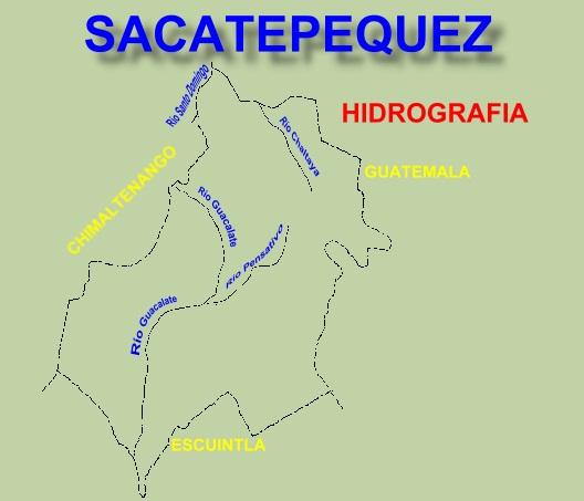 RIOS DEL DEPARTAMENTO DE SACATEPEQUEZ