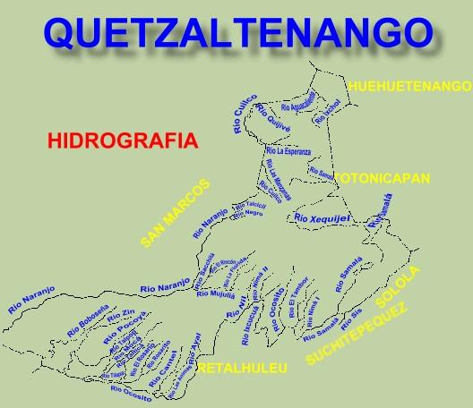 RIOS DE QUETZALTENANGO