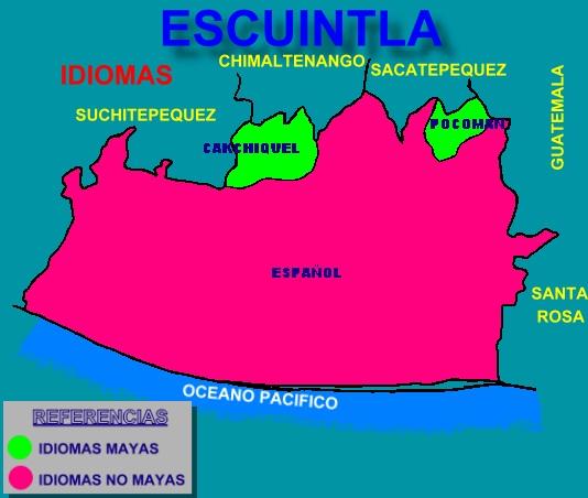 IDIOMAS DE ESCUINTLA