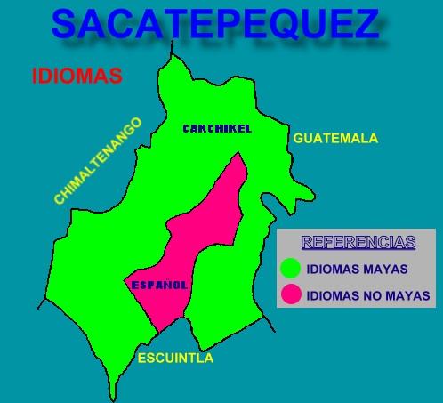 IDIOMAS DEL DEPARTAMENTO DE SACATEPEQUEZ