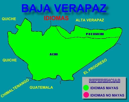 IDIOMAS DE BAJA VERAPAZ